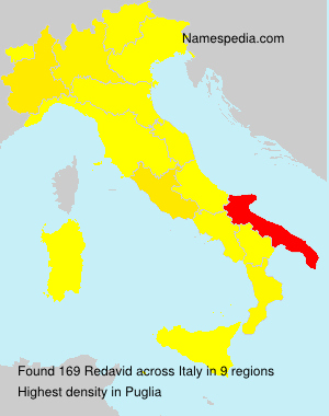 Surname Redavid in Italy