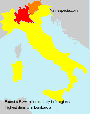 Surname Rizwan in Italy