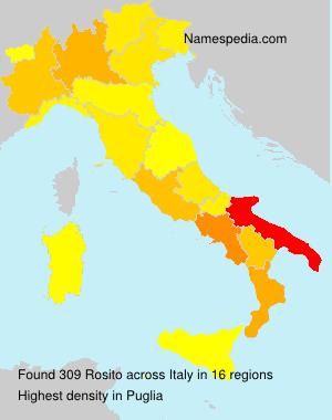 Familiennamen Rosito - Italy