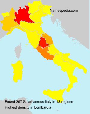Surname Salari in Italy