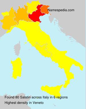 Familiennamen Salatin - Italy