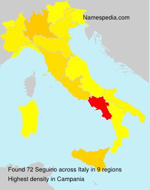 Familiennamen Seguino - Italy