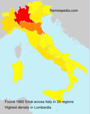 Familiennamen Silva - Italy