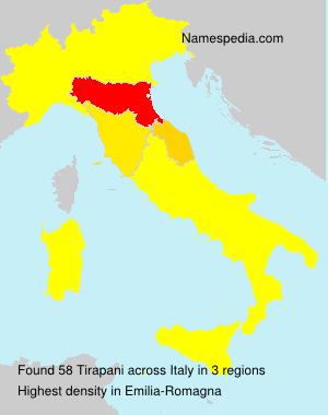 Surname Tirapani in Italy