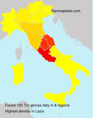 Surname Tizi in Italy