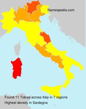 Familiennamen Tobias - Italy
