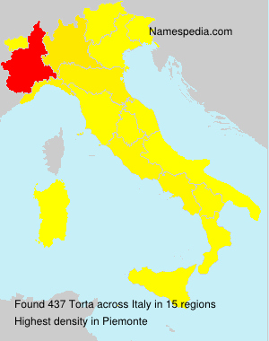 Surname Torta in Italy