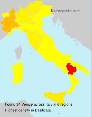 Surname Venice in Italy