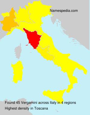 Familiennamen Vergamini - Italy