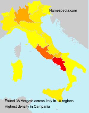 Familiennamen Vergato - Italy