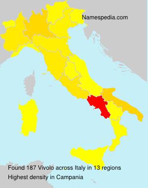 Surname Vivolo in Italy