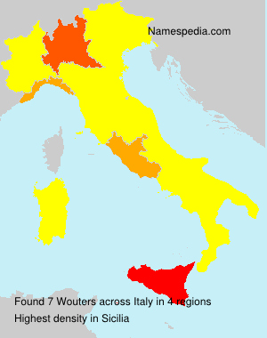 Surname Wouters in Italy