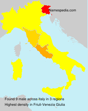Surname male in Italy