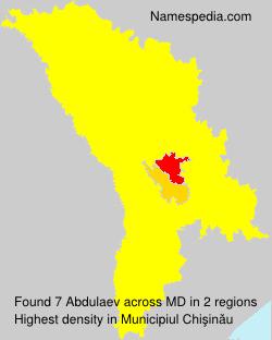 Surname Abdulaev in Moldova