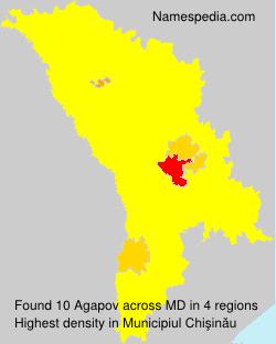 Surname Agapov in Moldova