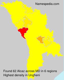 Surname Alcaz in Moldova