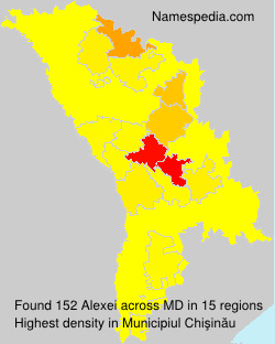 Surname Alexei in Moldova