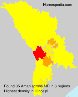 Surname Aman in Moldova