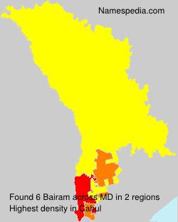 Surname Bairam in Moldova