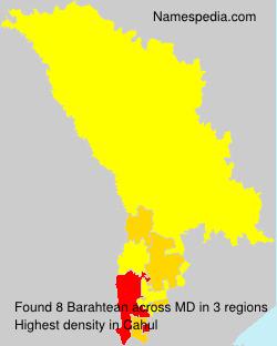 Surname Barahtean in Moldova