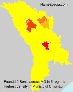 Surname Benis in Moldova