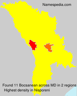 Surname Bocsanean in Moldova