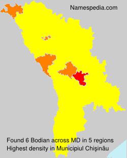 Surname Bodian in Moldova