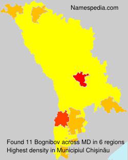 Surname Bognibov in Moldova