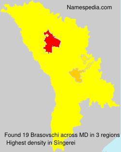 Surname Brasovschi in Moldova