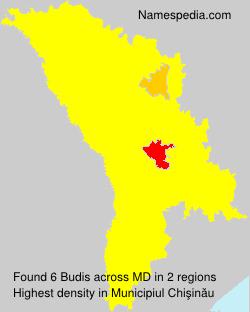 Surname Budis in Moldova