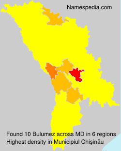 Surname Bulumez in Moldova