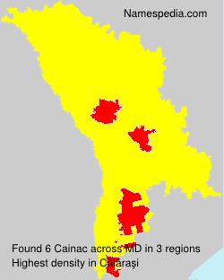 Surname Cainac in Moldova