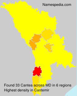 Surname Cantea in Moldova