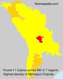 Surname Casina in Moldova
