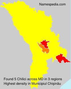 Surname Chilici in Moldova