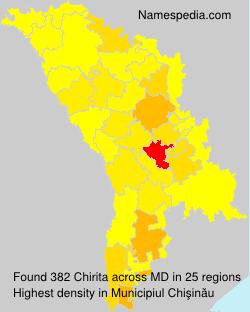 Surname Chirita in Moldova