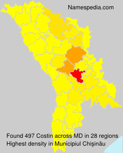 Surname Costin in Moldova