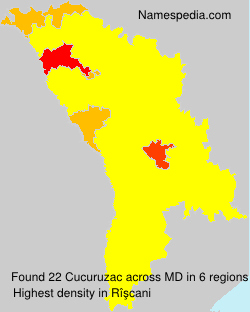 Surname Cucuruzac in Moldova