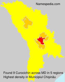 Surname Curocichin in Moldova