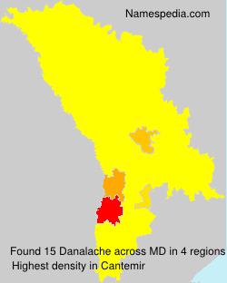 Surname Danalache in Moldova