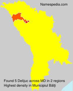 Surname Delijuc in Moldova