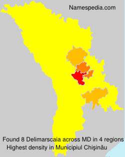 Surname Delimarscaia in Moldova