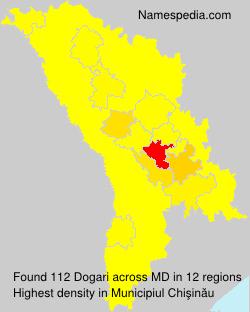 Surname Dogari in Moldova