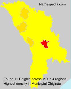 Surname Dolghin in Moldova