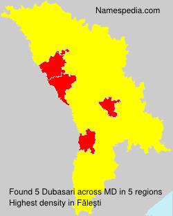 Familiennamen Dubasari - Moldova
