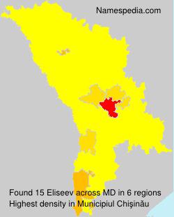 Surname Eliseev in Moldova