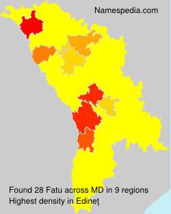 Surname Fatu in Moldova