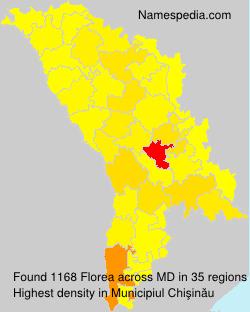 Familiennamen Florea - Moldova