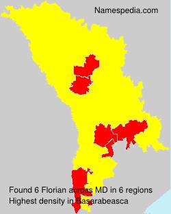 Surname Florian in Moldova