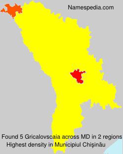 Gricalovscaia